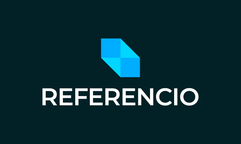 Referencio - Contemporary startup name for sale