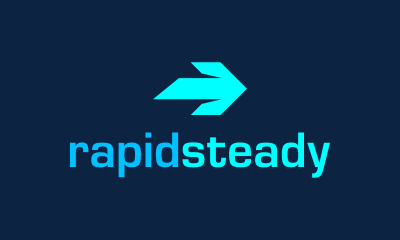 Rapidsteady - E-commerce company name for sale