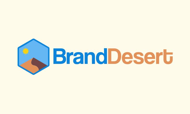 Branddesert - Technology business name for sale