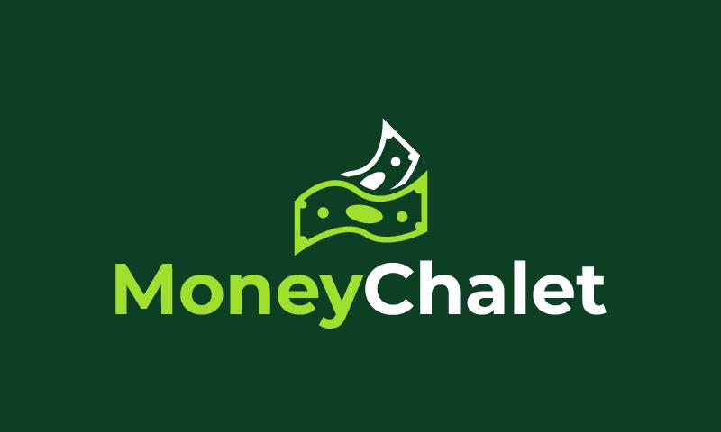 Moneychalet - Finance startup name for sale