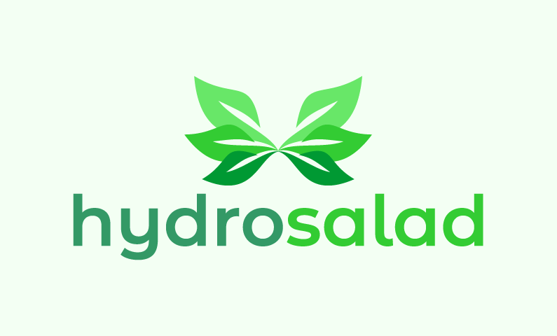 Hydrosalad - Agriculture startup name for sale