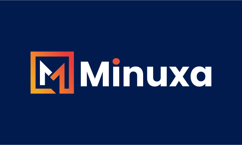 Minuxa - Contemporary business name for sale