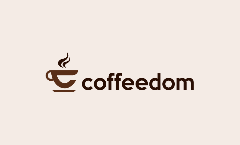 Coffeedom - Food and drink product name for sale
