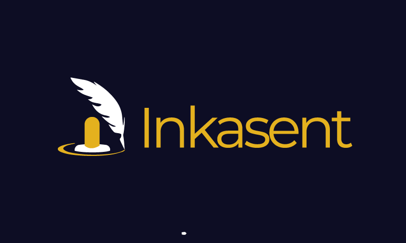 Inkasent - Shipping startup name for sale