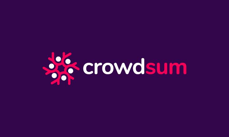 Crowdsum
