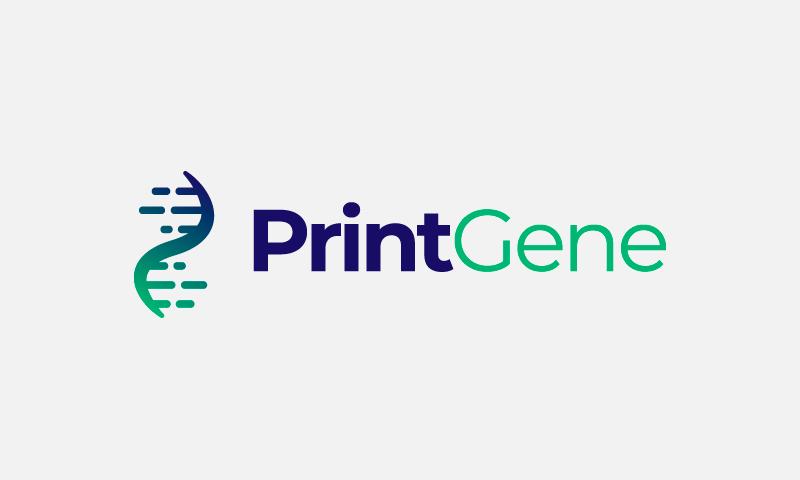 Printgene - Biotechnology domain name for sale