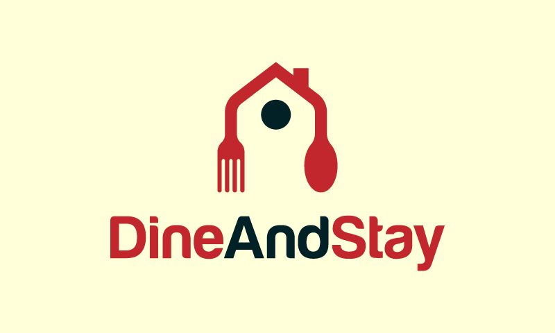 Dineandstay - Hospitality company name for sale