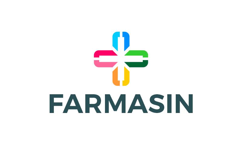 Farmasin - Health domain name for sale