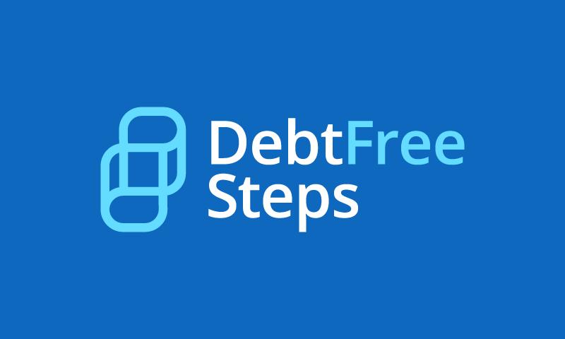 Debtfreesteps - Business brand name for sale