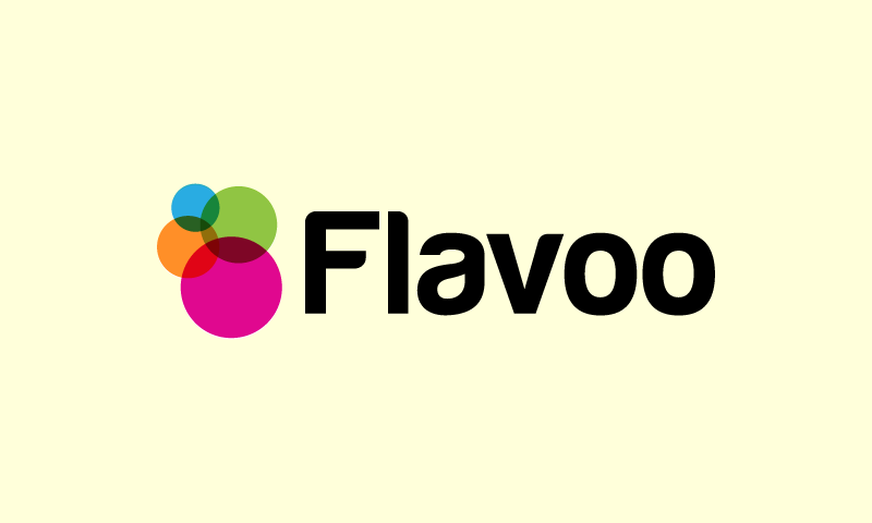 Flavoo - Brandable brand name for sale