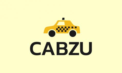Cabzu - Logistics startup name for sale