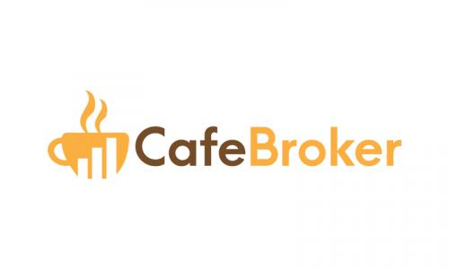 Cafebroker - Feminine business name for sale