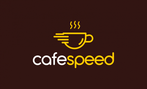 Cafespeed - Food and drink startup name for sale