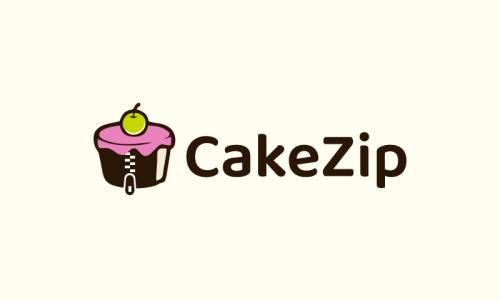 Cakezip - Cooking domain name for sale