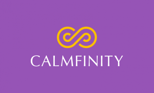 Calmfinity - Peaceful domain name for sale