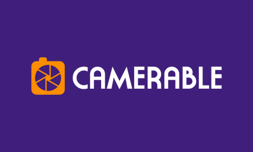Camerable - Photography startup name for sale