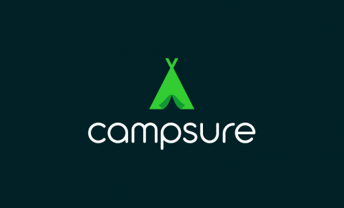 Campsure - Travel domain name for sale