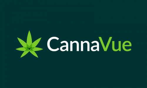 Cannavue - Cannabis startup name for sale