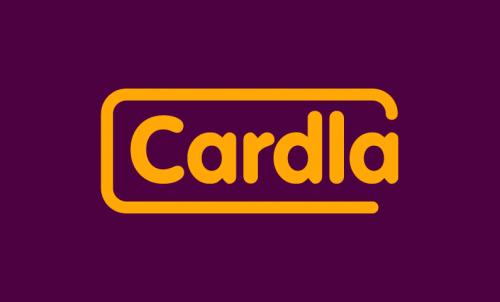 Cardla - Print startup name for sale