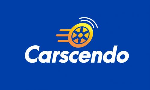 Carscendo - Transport startup name for sale