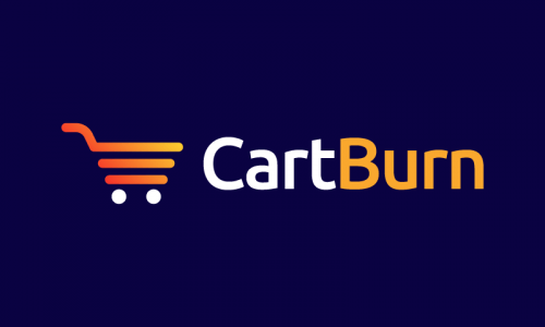 Cartburn - E-commerce company name for sale