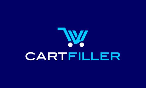 Cartfiller - E-commerce startup name for sale