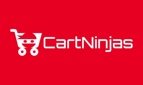 Cartninjas - E-commerce business name for sale