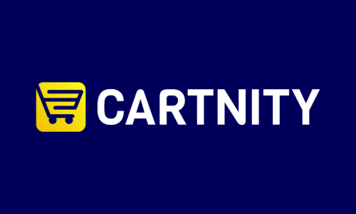 Cartnity - E-commerce startup name for sale