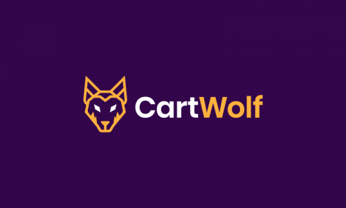 Cartwolf - E-commerce company name for sale