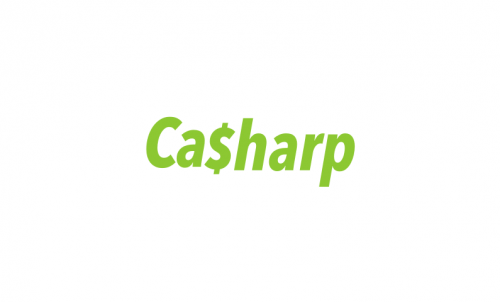 Casharp - Business name for a company in the finance industry