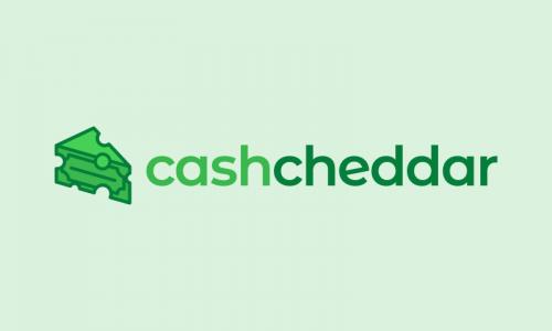 Cashcheddar - Finance product name for sale