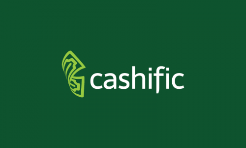 Cashific - Finance startup name for sale