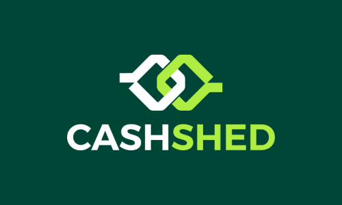 Cashshed - Finance startup name for sale