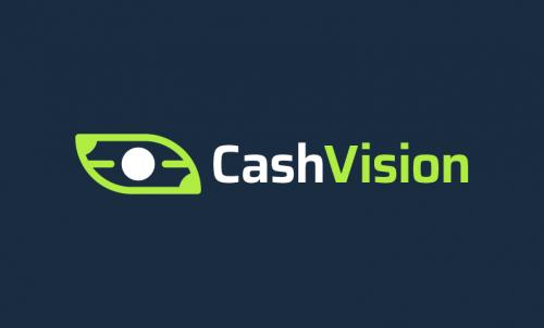 Cashvision - Finance startup name for sale