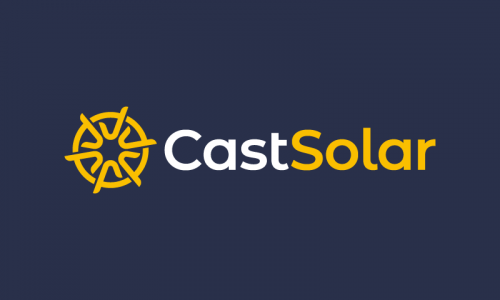Castsolar - Power business name for sale