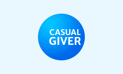 Casualgiver - Technology domain name for sale