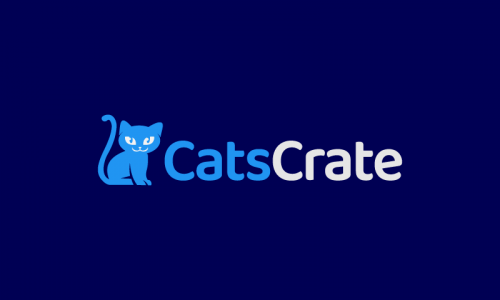 Catscrate - Pets startup name for sale