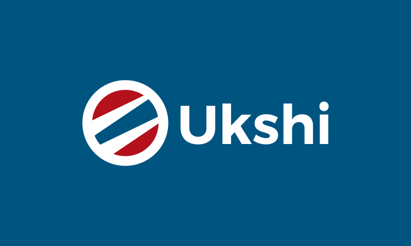 Ukshi - Modern business name for sale