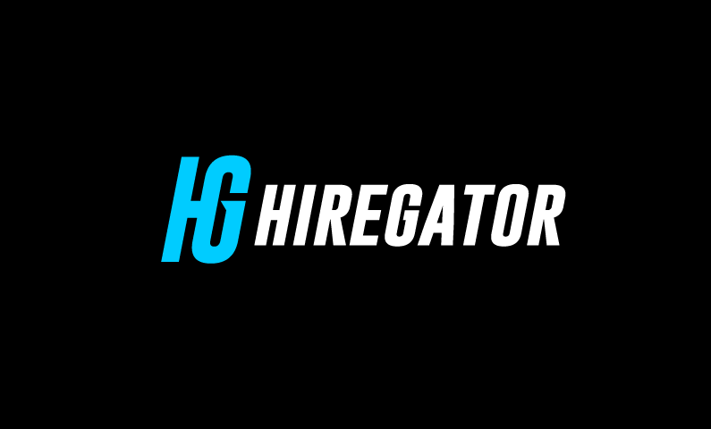 HireGator logo - Distinguished brand name for any rental service