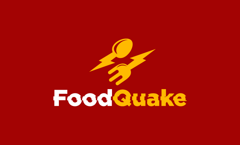 Foodquake - Nutrition startup name for sale
