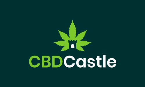 Cbdcastle - Cannabis startup name for sale