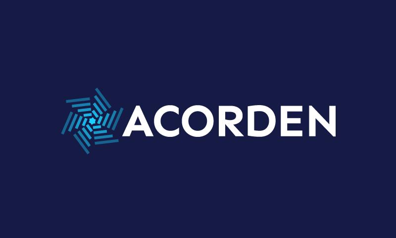 Acorden - Technology brand name for sale