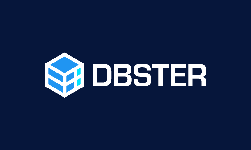 Dbster - AI company name for sale