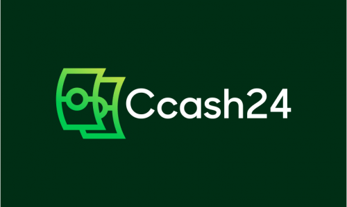 Ccash24 - Cryptocurrency startup name for sale