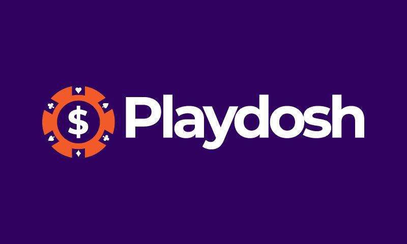 Playdosh - Gambling startup name for sale