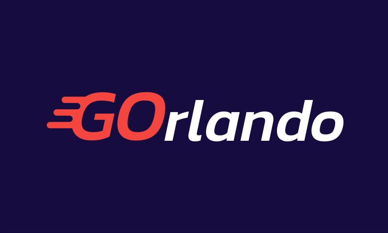 Gorlando - Modern domain name for sale