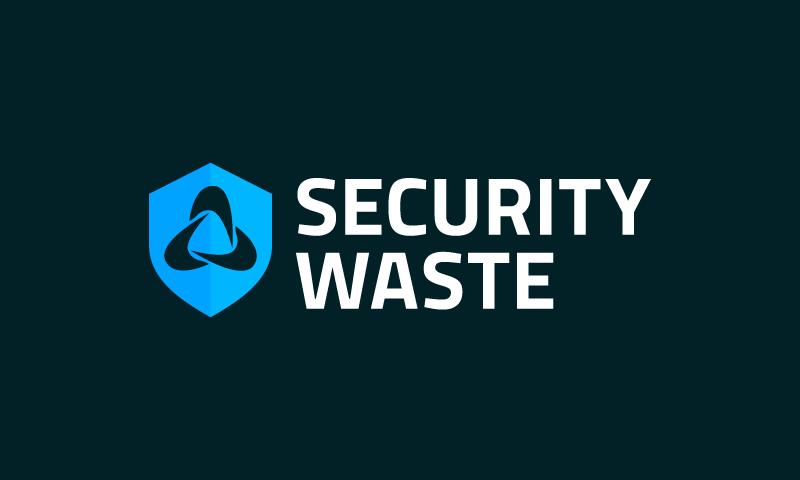 Securitywaste - Security company name for sale