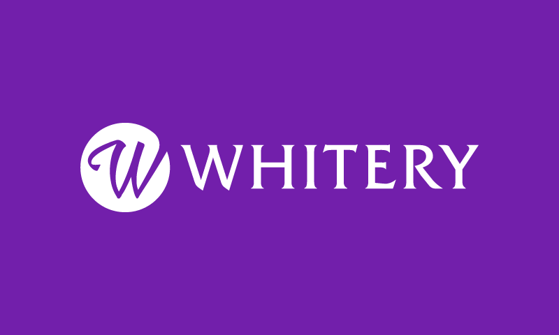 Whitery - Modern brand name for sale