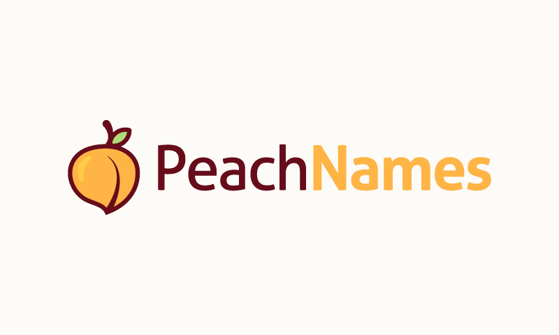 Peachnames - Business brand name for sale