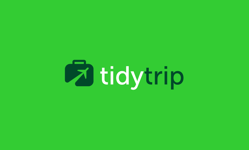 TidyTrip - Neat domain name
